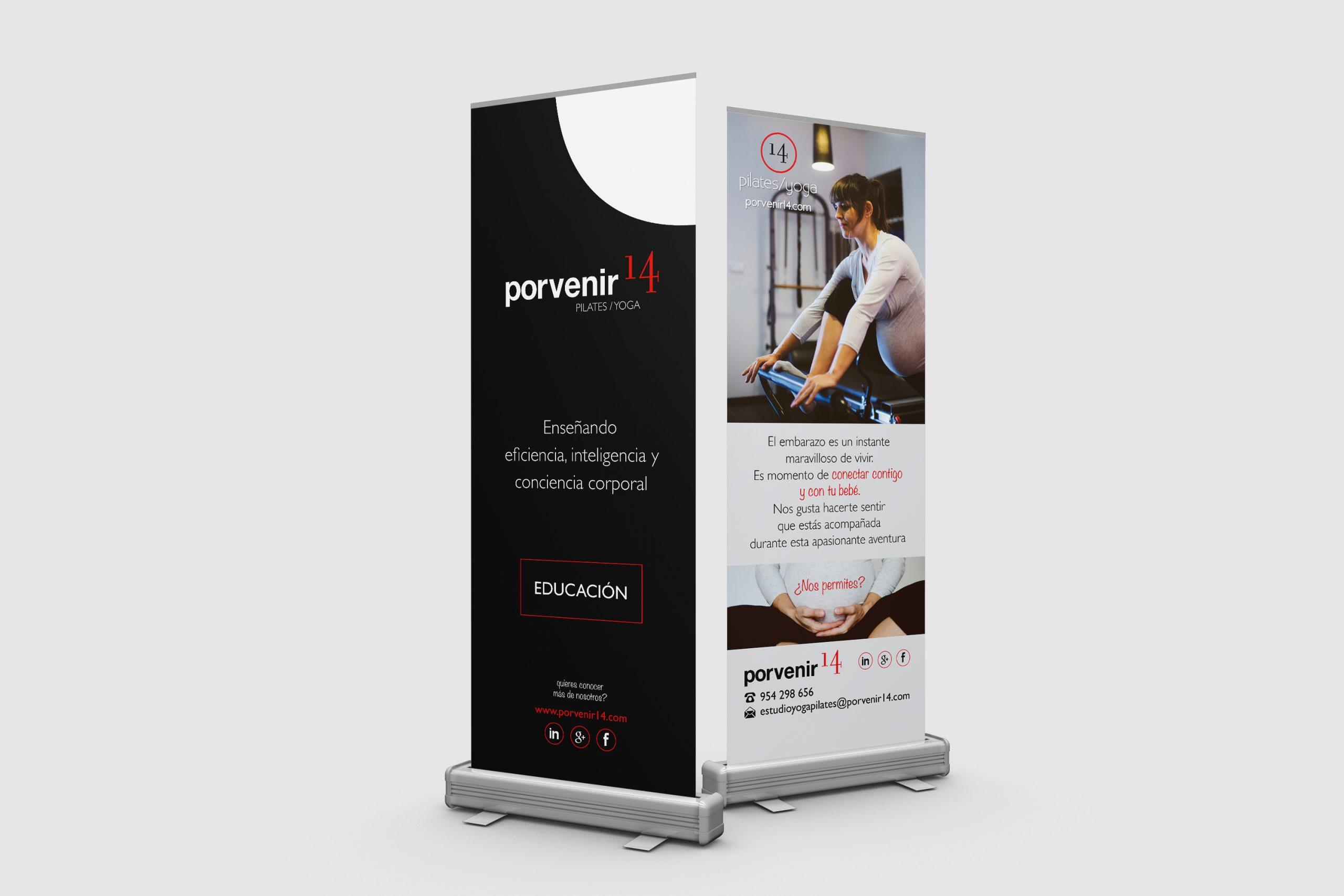 Diseño Roll Up Formación, Porvenir 14 by DSMK